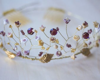 Hair Accessories - CHARLOTTE Tiara