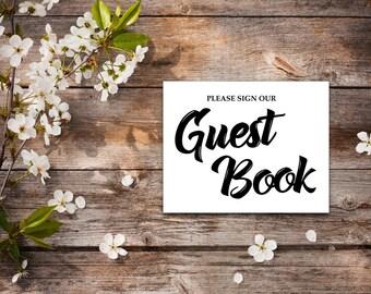 guest book table etsy. Black Bedroom Furniture Sets. Home Design Ideas