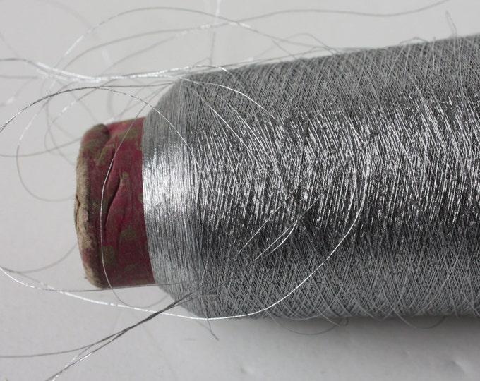 Super Fine Metallic Thread -  Silver