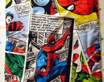 Spider Man Comic Strip Childrens Blanket 32615117
