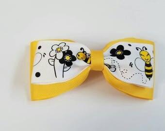 Bumblebee Tuxedo Bow