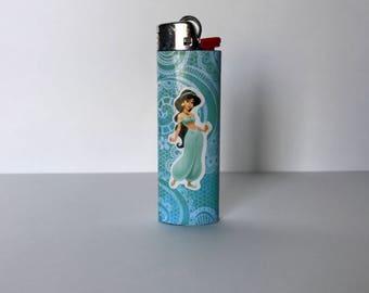 Jasmine inspired bic lighter, disney princess, collectibles