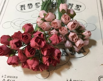Small vintage rose bunch