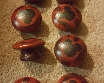 Mickey mouse dresser knobs