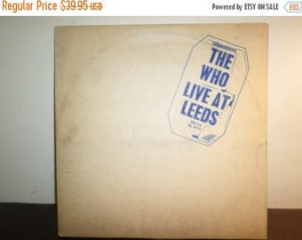 Save 30% Today Vintage 1970 Vinyl LP Record The Who Live At Leeds Original Pressing w/All Inserts Excellent 8455