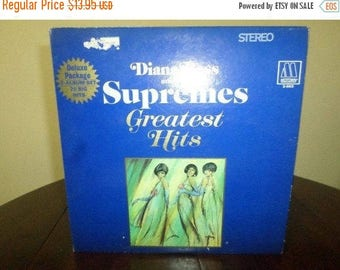 Save 30% Today Vintage 1967 Vinyl LP Diana Ross and the Supremes Greatest Hits Excellent Condition W/Original Poster 5826