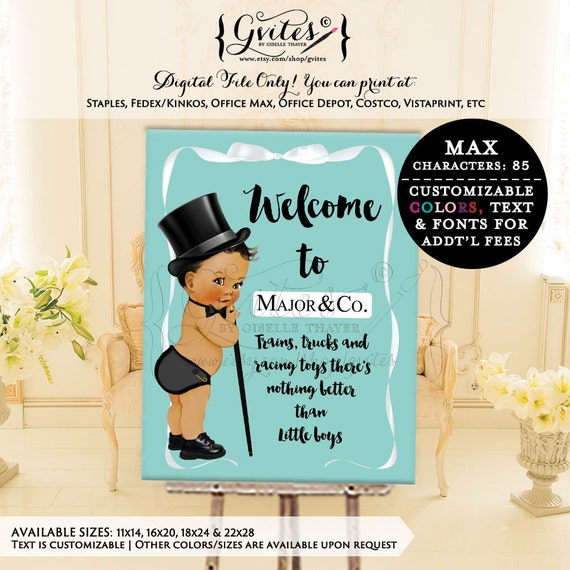 Welcome signs, baby and co, baby and company digital baby shower signs, entrance signs, decorations, breakfast at, welcome to {You Print}
