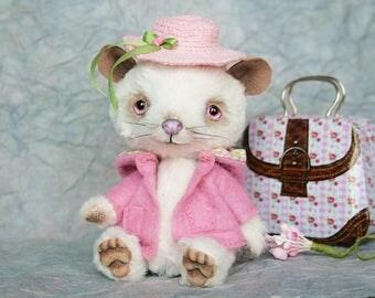Albinos Rat Miss Springfield - Artist Teddy OOAK