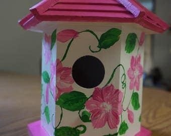 Beautiful Hand Painted Birdhouse
