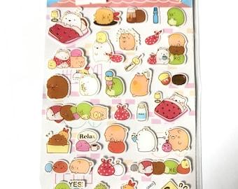 San X Sumikko Gurashi Sticker Sheet