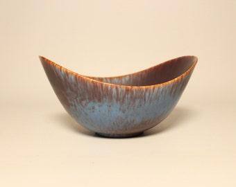 Scandinavian Mid century Stoneware bowl ARO from Rörstrand and Gunnar Nylund Sweden