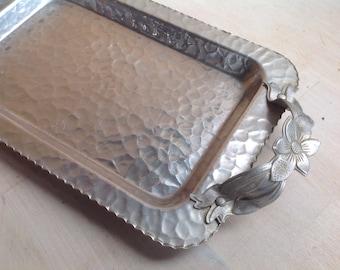 Norwegian handmade aluminum tray