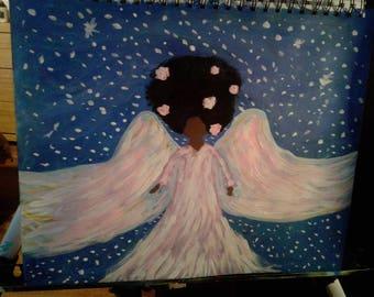 Original Black Art-Angels Among Us