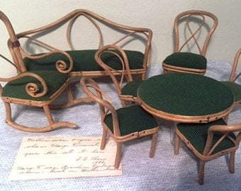 1890's Thonet Style Doll Furniture