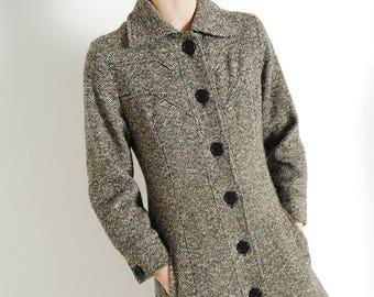 nordstrom tweed fit + flare coat