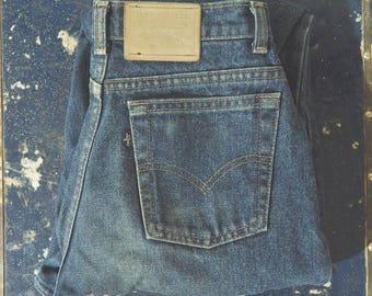 15% off * Vintage Levis BIG E jeans-90's