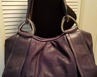 Authentic KOOBA SATCHEL Leather Handbag