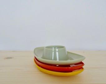Vintage egg cup holders