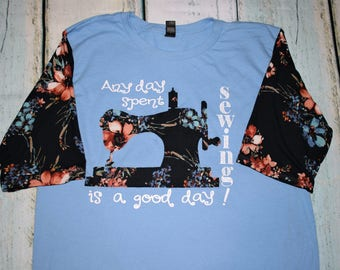 Sewing is a Good Day Tee