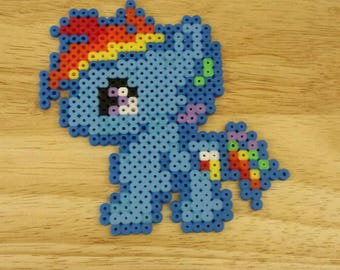 My Little Pony Rainbow Dash Hama Bead Figure