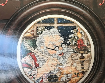 Stoney Creek Collection - Santa Christmas Plate 1995