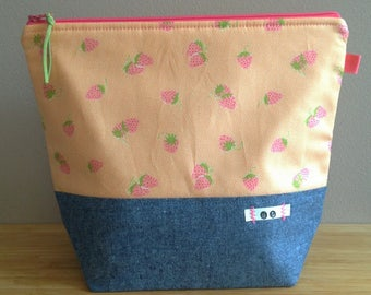 Perfect Sugar - Strawberry Tangarine - Project Bag
