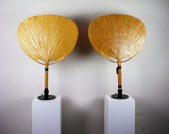 Ingo Maurer Uchiwa fan lamps