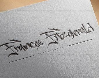 Logo, Custom Premade Logo Design Package,Branding Package - bloggers logo, feminine logo, custom logo design, modern logo, logo branding