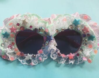 Lace Face Sunglasses