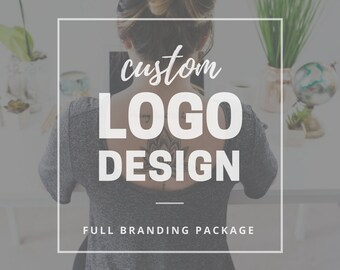 Custom Logo Design - Full Branding Package