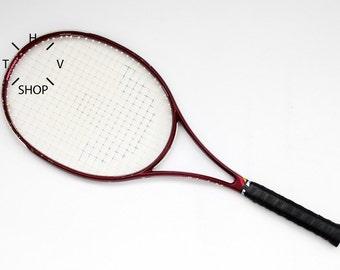 Vintage Adidas Originals ProCourt 3 Tennis Racket / Fibre Tennis Racquet / Old Aerodynamic collectors racket / Taiwan 90s