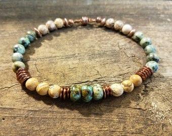 Boho Bracelet, Beaded Bracelet, Handmade Bracelet, Ethnic Bracelet