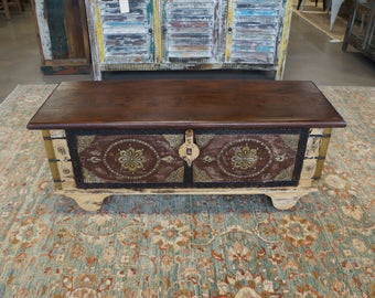 Beautiful Handcrafted Rustic Solid Wood Cabinet/Storage from India