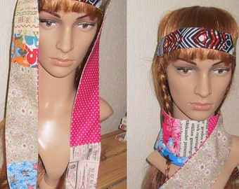 Accessory/patchwork/scarf/colorful scarf/liberty/pesley/scarf/Tie/women accessory