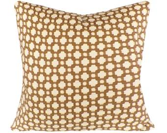 Schumacher Betwixt Decorative Pillow Cover - Throw Pillow - Both Sides -10x20, 12x16, 12x20, 14x18, 14x24, 16x16, 18x18, 20x20, 22x22, 24x24