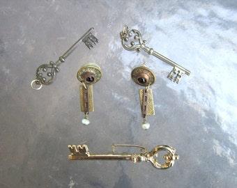 Steampunk jewelry lot