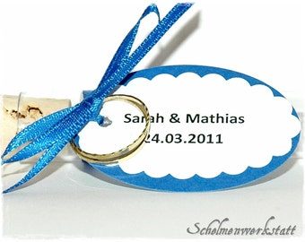 Trailer for guest gifts wedding (5 PCs)