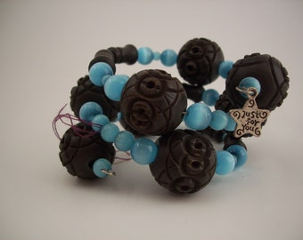 Chunky Coil Bracelet