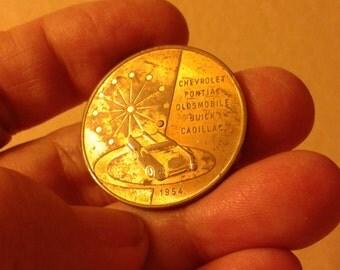 General Motors 1954 Motorama coin