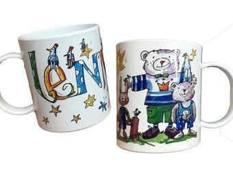 Plastic cup bear name, RosiRosinchen