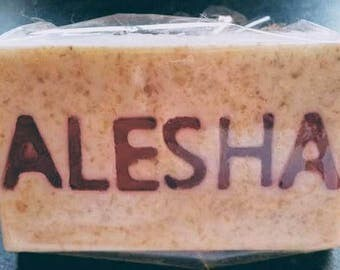 Personalised Handmade Organic Soap Bar
