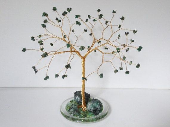 55th Wedding Anniversary Gift Emerald Gemstone Tree By Josoko