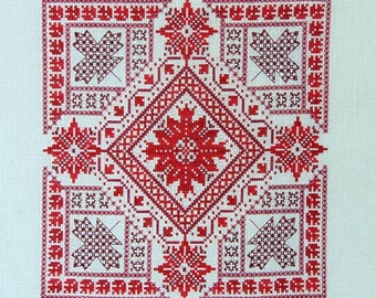Shades of Canada PDF chart by Northern Expressions Needlework