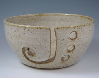 Yarn Bowl ~ Pottery Yarn Bowl ~ Knitting Bowl ~ Crochet Bowl
