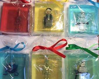 Special Order Star Wars Minifigure soap Twelve  pack
