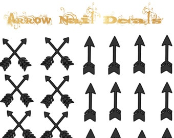 Arrow Nail Decals