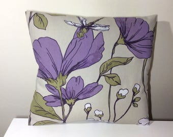 Flower Pillow - 16 x 16 - Flower Cushion - Flower Cushion Cover - Flower Pillow Cover