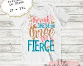 Birthday Outfit - Birthday Shirt - 3rd Birthday - 3rd Birthday Outfit - Third Birthday - 3rd Birthday Shirt - Girls Birthday Shirt - Three