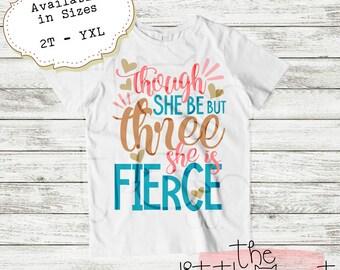 Birthday Outfit - Birthday Shirt - 3rd Birthday - 3rd Birthday Outfit - Third Birthday - 3rd Birthday Shirt - Girls Birthday Shirt - Three