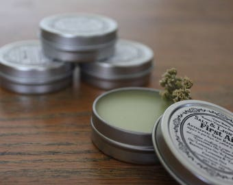 First Aid Balm/Salve/Organic/Antiseptic/Antibacterial/Wounds/Rash/Burn/Dry Chapped Skin